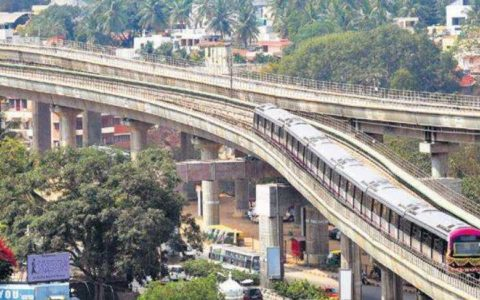Trees suffer as BMRCL stretches its metro corridor
