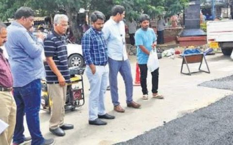 VMC opts for Bitumen polymer for restoration of damaged city roads