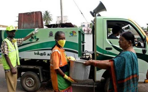 wet waste collection vehicles in Coimbatore