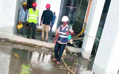 MCC asked construction agencies to clear stagnant water at sites