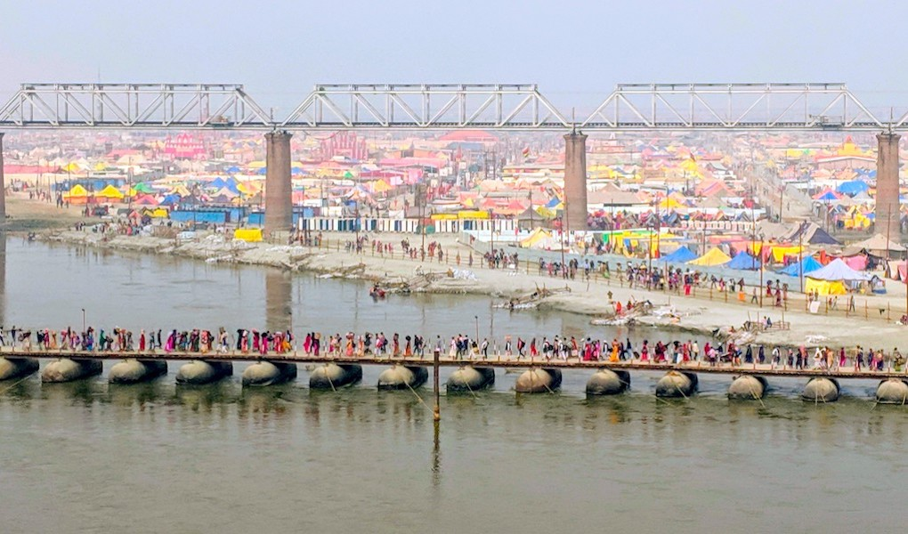 Ganga breaches danger mark in Prayagraj
