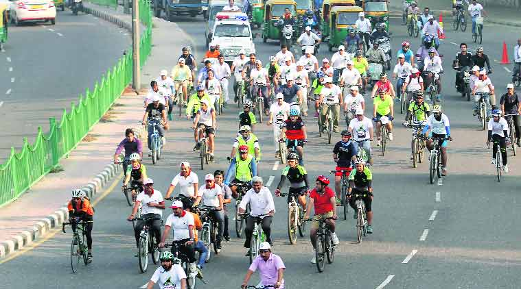 "Chandigarh to observe ""Car free day"" today"
