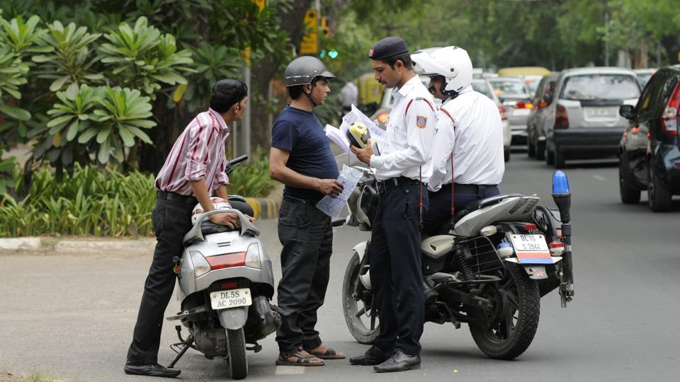 Heavy fines for neglecting traffic rules with new motor vehicle act
