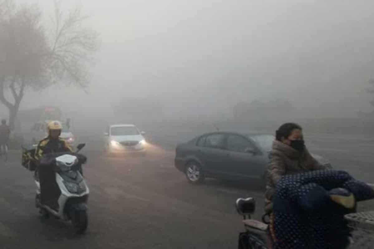 China issues smog warnings for its northern parts