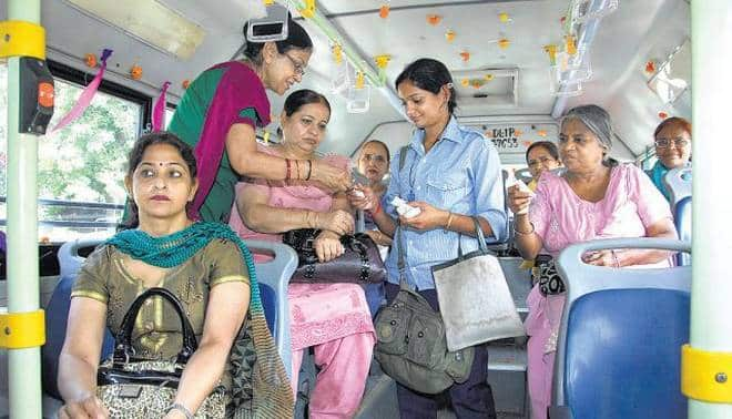 DTC approves scheme to issue pink slips to women for free travel
