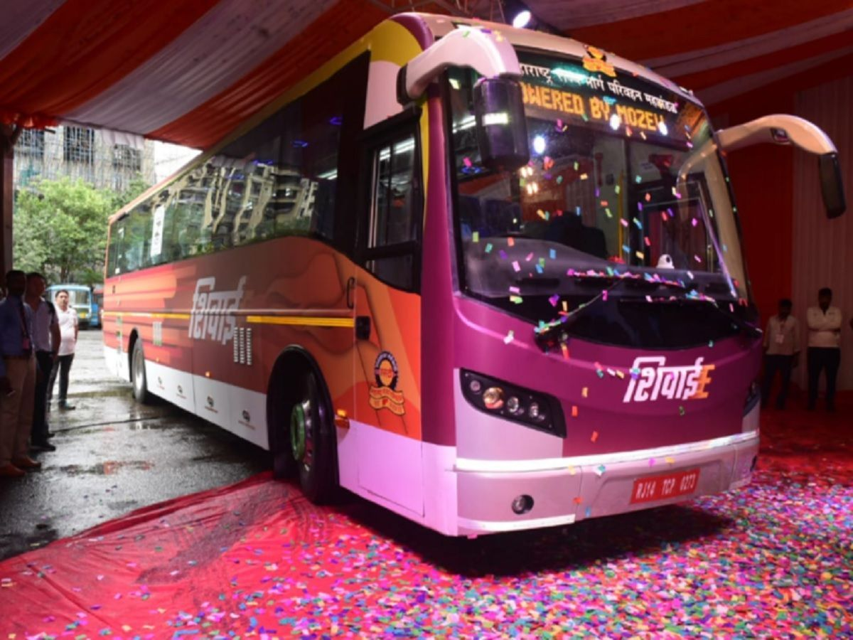 MSRTC launches India's first intercity electric bus