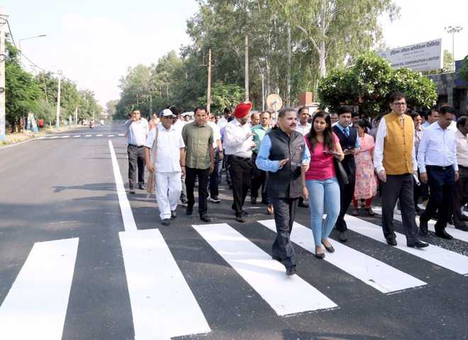 IOCL constructs road from single-use plastic waste in Faridabad