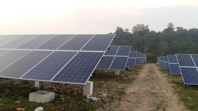 HP commissions solar power plant in Hamirpur