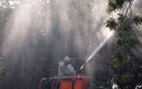 EDMC to use sprinklers to fight air pollution