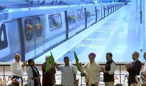 Delhi Metro extends in Najafgarh corridor with the Grey Line