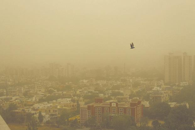 Delhi's AQI dips down to 'season's worst' post Dussehra