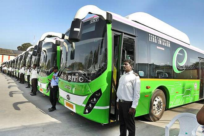 E-buses to ply in Vishakhapatnam