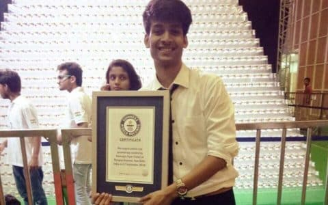 Delhi students set 2 environmental world records