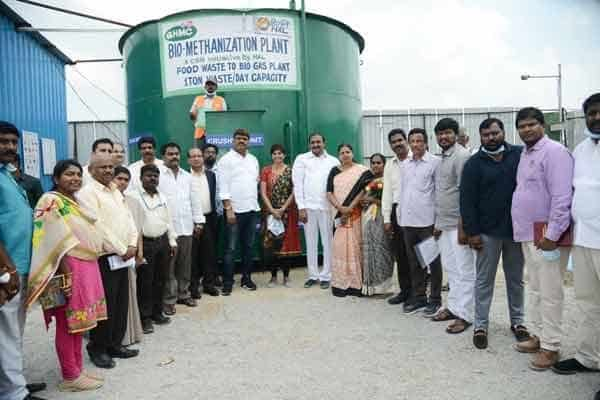GHMC introduced first bio methanation plant in Hyderabad