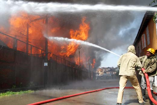 Srinagar Smart City to upgrade firefighting infra