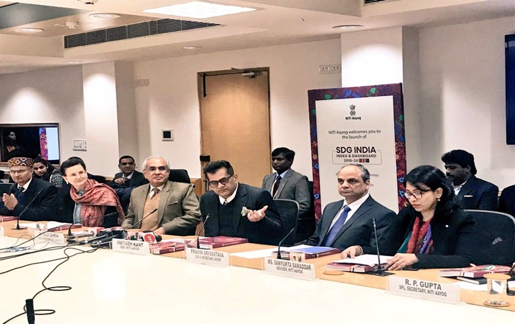 NITI Aayog launched SDG India Index 2019, Kerala topped