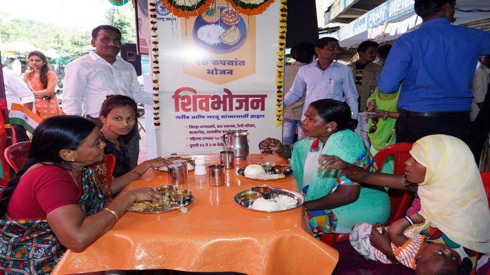 Maharashtra launches 'Shiv Bhojan' scheme