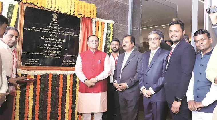 CM inaugurates new GSRTC bus port in Rajkot
