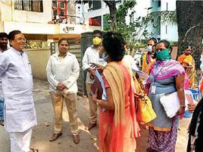 Thane MC to conduct door-to-door survey to detect corona patients