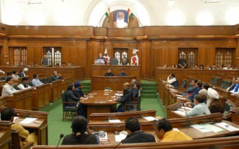 Delhi Assembly passes budget amidst corona outbreak