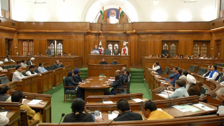 Delhi Assembly passes budget amidst corona outbreak