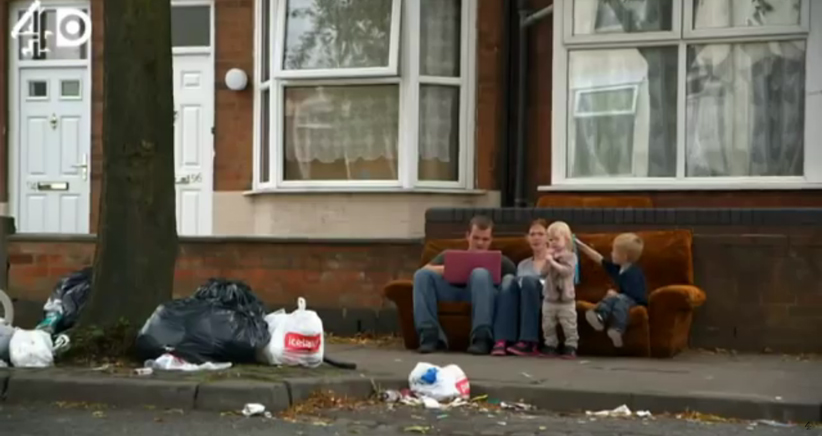Poverty graph shoots up in Britain