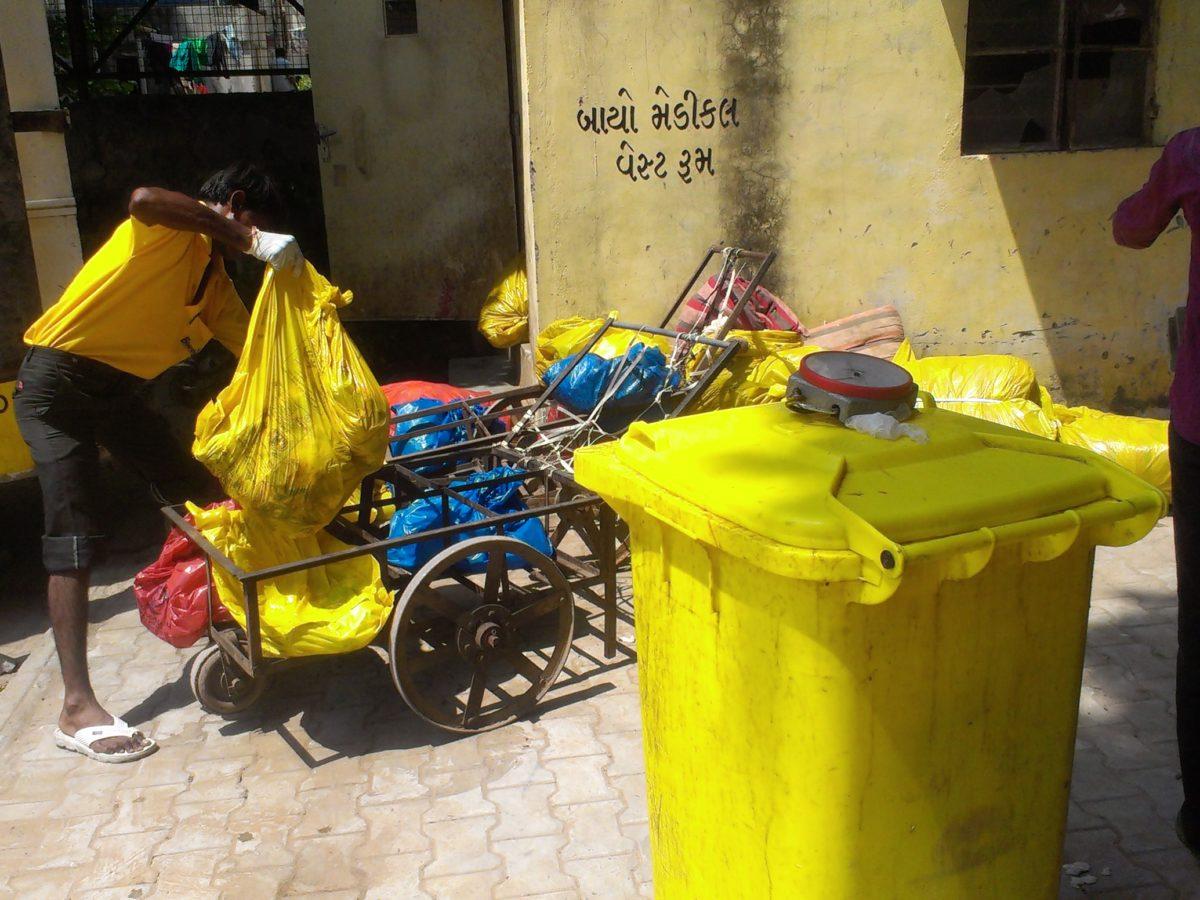 AMC to put yellow bins for bio medical waste disposal