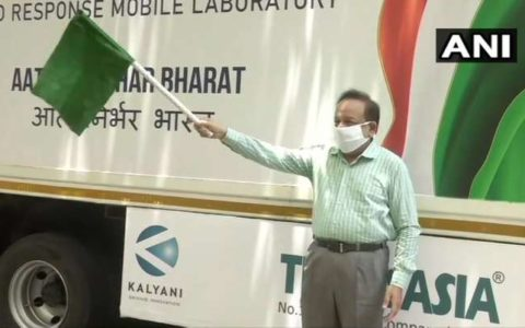 Delhi gets first mobile COVID-19 testing lab