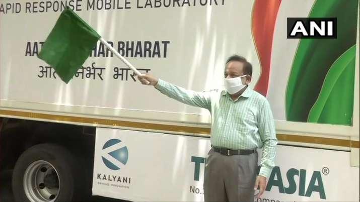 Delhi gets first mobile COVID-19 testing lab