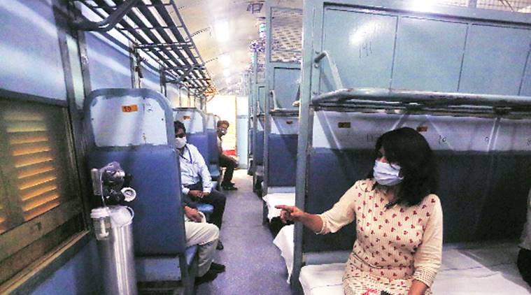 500 railway coaches to be given to Delhi to increase bed strength