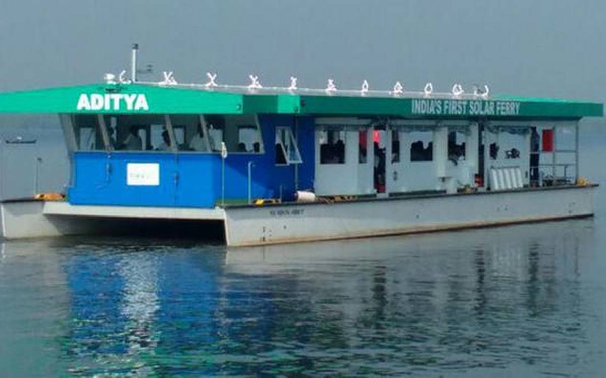 Aditya, India's first solar powered ferry, wins Gustave Troupe Award
