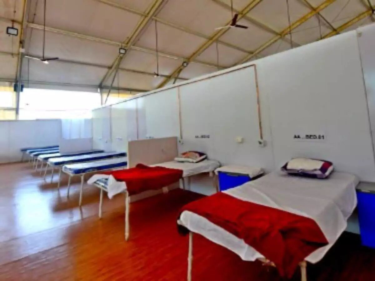 COVID-19 first-line treatment centres