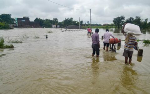 Flood havoc in Assam and Bihar; nearly 4 million affected