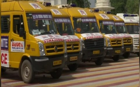 DSGMC starts free ambulance service for COVID-19 patients