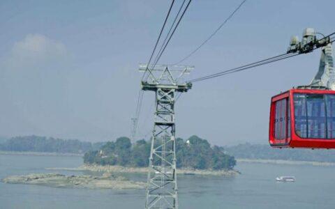India's longest ropeway inaugurated in Assam's Guwahati