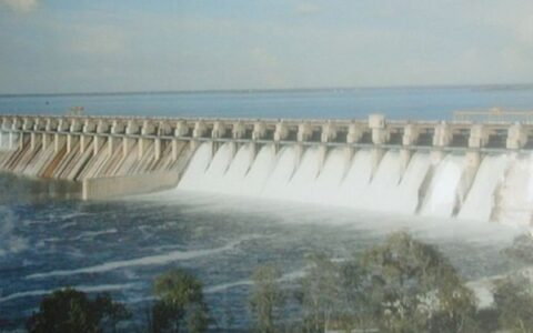 Hirakud Dam opens 24 Sluice gates to discharge floodwaters