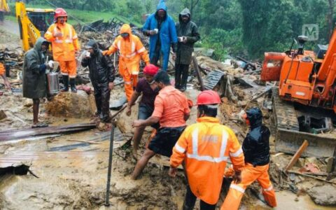 NDRF resumes rescue operation in Kerala's Idukki