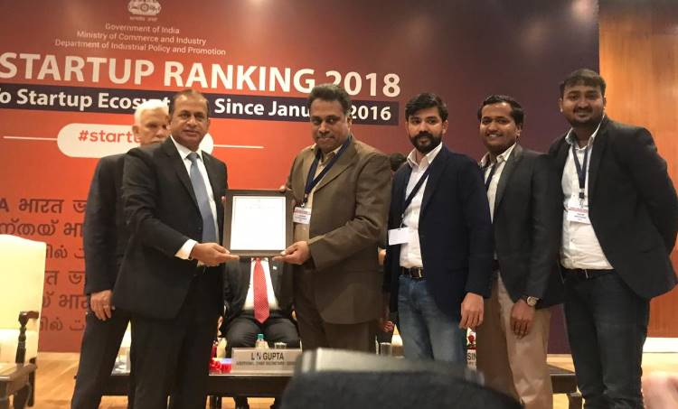 "Kerala titled ""Top Performer"" in State's Start-up Rankings"