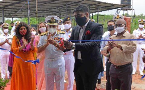 Kochi Naval Base gets plastic waste handling facility