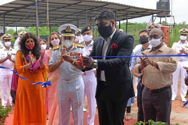 Kochi Naval Base gets plastic waste handling facility