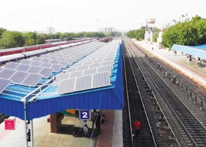 Indian Railways installs solar power plants at more than 960 stations