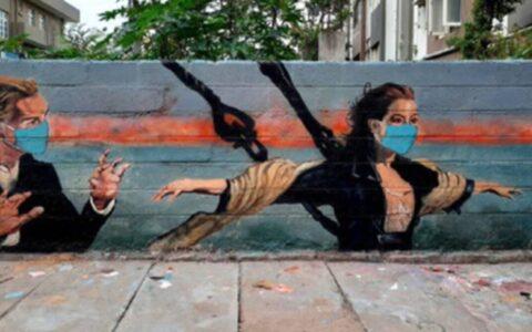 Bengaluru artist spreads COVID awareness using murals