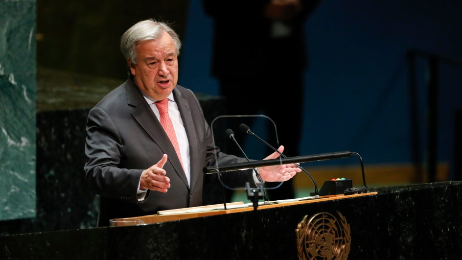 UN Chief urges for global efforts to address air pollution