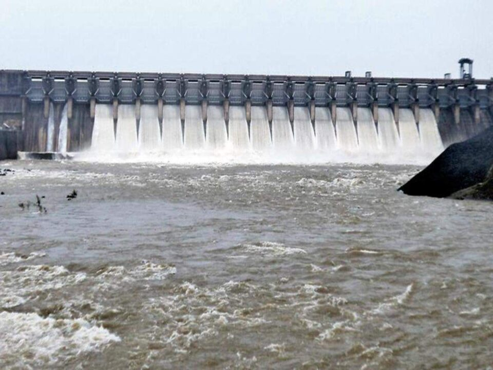 Authorities release water from Ukai Dam as catchment areas receive excessive rainfall