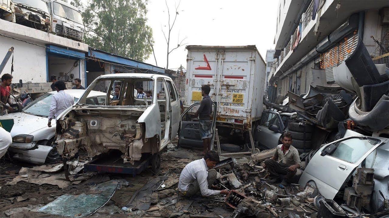 DPCC shuts down 28 illegal car scrapping units in Delhi