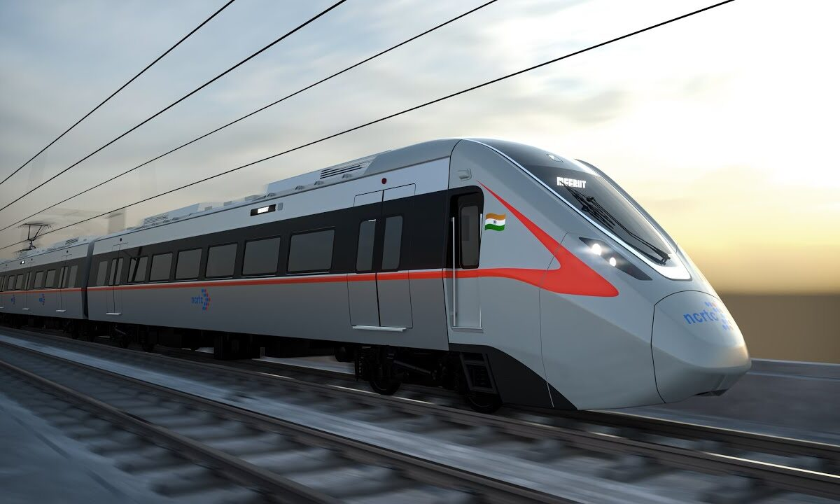 Look of India's first Regional Rapid Train unveiled