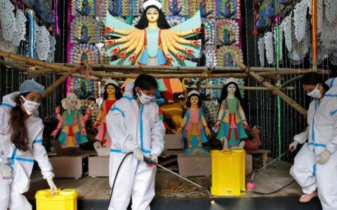 Visitors not allowed in Durga Puja pandals: Calcutta High Court