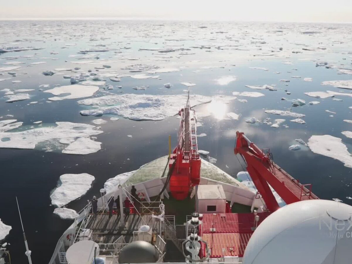 Scientists complete yearlong expedition to the Artic, bring back tons of data