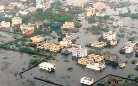 Chennai swamped in water due to negligence