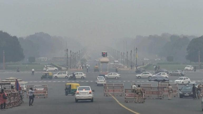 Delhi's air quality drops to poor category